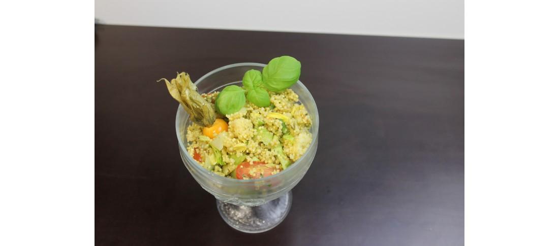 Kräuter-Hirsesalat