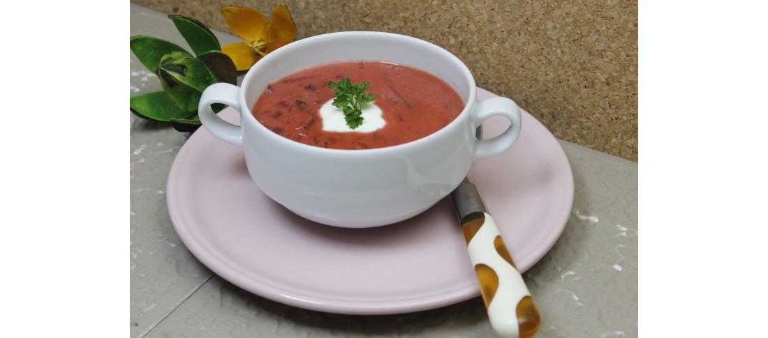 Betenbartsch (Rote Beete Suppe)